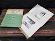 Sale 8822B - Lot 701 - 2 Vols: Signed Copy of Norman Lindsays Watercolours & Etchings 1926 The Dunster Galleries, Adelaide no.29/35 with Norman Lindsay...