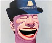 Sale 9069 - Lot 2017 - Contemporary Chinese School The Laughing Official II acrylic on canvas , 50 x 60 cm