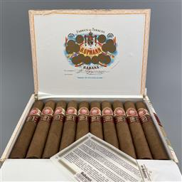 Sale 9165 - Lot 640 - H. Upmann Royal Robusto Cuban Cigars - box of 10 cigars, dated March 2017