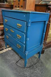 Sale 8099 - Lot 883 - Small Painted Chest of 4 Drawers