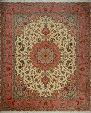 Sale 8402C - Lot 44 - Superfine Persian Silk Tabriz 255cm x 200cm