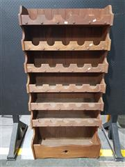 Sale 8740 - Lot 1706 - Timber Wine Rack