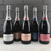 Sale 8911X - Lot 100 - 5x Taltarni Vineyards Methode Traditionnelle Sparkling, Pyrenees - 1x 2013 Brut, 1x 2013 Sparkling Rose, 1x 2013 Cuvee Rose, 1x 20...