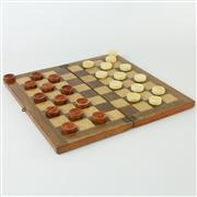 Sale 8399 - Lot 29 - Edwardian Ivory Checkers Set