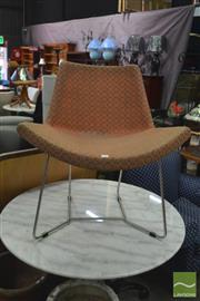 Sale 8406 - Lot 1157 - Modern Chair and Stool