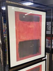 Sale 8936 - Lot 2053 - Mark Rothko Decorative Print 100 x 80