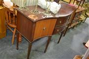 Sale 7987A - Lot 1212 - Raised Sideboard With Two Doors And Two Drawers