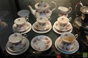 Sale 8226 - Lot 93 - Royal Albert Lavender Rose Part Tea Set