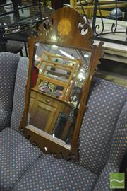 Sale 8368 - Lot 1044 - Timber Framed Mirror