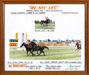 Sale 8800 - Lot 246 - In My Life, race post finish photograph