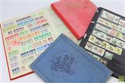Sale 8618 - Lot 92 - Set Of Four Stamp Albums Incl Australia And World