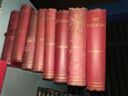 Sale 8659 - Lot 2315 - 8 Volumes The Works of William Makepeace Thackeray incl. The Adventures of Philip; The History of Pendennis, etc pub. Smith, Eld...