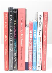 Sale 8471H - Lot 95 - A quantity of books including the Audrey Hepburn Treasures, by Erwin Diamond, and other books on fashionable pursuits