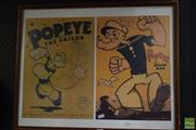 Sale 8530 - Lot 2073 - Double Popeye Posters