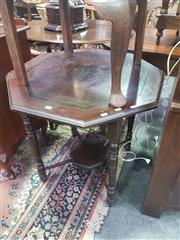 Sale 8648C - Lot 1021 - Inlaid Octagonal Occasional Table