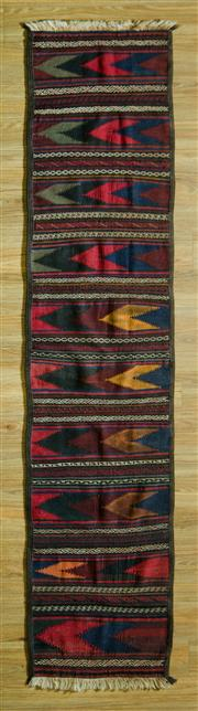 Sale 8700C - Lot 8 - Persian Kilim Runner 288cm x 65cm