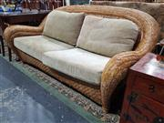 Sale 8826 - Lot 1017 - Seagrass 2 Seater Lounge