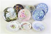 Sale 8994 - Lot 90 - Collection of cabinet plates incl. Wedgwood example (Dia22.5cm)