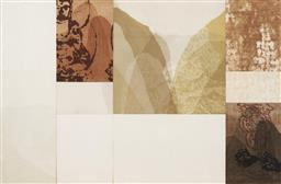 Sale 9170A - Lot 5008 - BELINDA FOX (1975 - ) Untitled etching and collage 99 x 152 cm (frame: 111 x 161 x 4 cm) unsigned
