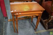 Sale 8532 - Lot 1405 - Nest of Two Timber Tables