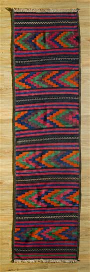 Sale 8700C - Lot 9 - Persian Kilim Runner 268cm x 73cm