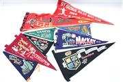 Sale 8869 - Lot 101 - A Collection of Early Souvenir Flags