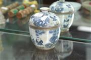 Sale 8339 - Lot 76 - Chinese Blue & White Vessel Marks To Base