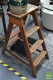 Sale 8338 - Lot 1146 - Small Timber A Frame Ladder