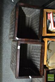 Sale 8548 - Lot 2393 - Collection of Five Wicker Boxes