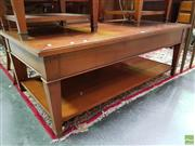 Sale 8570 - Lot 1011 - Timber Coffee Table
