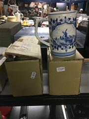 Sale 8759 - Lot 2166 - Collection of 4 Delft Beer Tankards (1361)