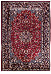 Sale 8770C - Lot 31 - A Persian Najafabad From Isfahan Region 100% Wool Pile On Cotton Foundation, 378 x 265cm