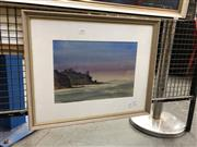 Sale 8779 - Lot 2058 - David Dearn - Narooma NSW, watercolour, 45 x 55cm, signed lower right