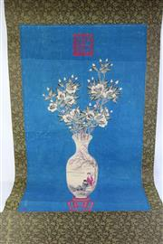 Sale 8815C - Lot 13 - Chinese Scroll Depicting Porcelain Vase