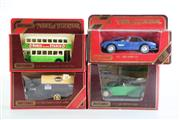 Sale 8960T - Lot 30 - A Set Of Four Matchbox Models of Yesteryear Toy Cars Incl Hovis