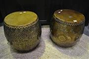 Sale 8099 - Lot 818 - Pair of Chinese Drums