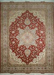 Sale 8406C - Lot 92 - Superfine Persian Silk Tabriz 207cm x 153cm