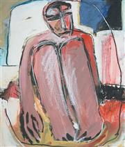 Sale 8503 - Lot 2005 - Barbara Licha (1957 - ) - Figure II 70 x 59.5cm