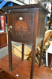 Sale 8115 - Lot 1168 - Inlaid Smokers Stand
