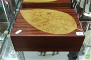 Sale 8226 - Lot 35 - Silky Oak Humidor