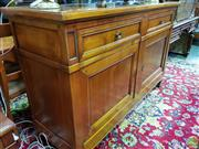 Sale 8570 - Lot 1013 - Timber Sideboard (102 x 158 x 51cm)