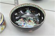 Sale 8195 - Lot 57 - English Hand Painted Bowl