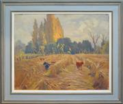 Sale 8301 - Lot 555 - John Eldershaw (1892 - 1973) - The Millet Field, 1863 - 1865 60 x 75cm