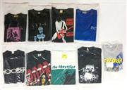 Sale 8926M - Lot 1 - Australian & New Zealand Band T-Shirts incl. Mother Goose, The Poor, The Chevelles & Johnny Diesel (9)