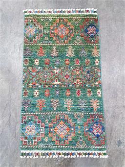 Sale 9166 - Lot 1059 - Hand knotted pure wool Persian carpet ( 102 x 61cm)