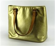 Sale 8087B - Lot 324 - A LOUIS VUITTON VERNIS LEATHER HOUSTON BAG; some marks and ware, interior label no. LW0999, 33 x 25cm