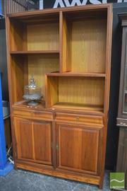 Sale 8323 - Lot 1015 - Large Chinese Two Door Cabinet