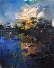 Sale 8389 - Lot 561 - Chen Ping (1962 - ) - Lonely Cloud, Gordon River 150 x 120cm