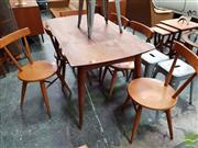 Sale 8493 - Lot 1057 - Fred Ward Dining Suite incl. Table and 6 Chairs