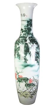 Sale 8802 - Lot 69 - Large Chinese Porcelain Vase